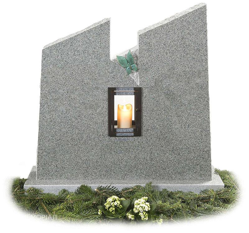 Памятники из крошки: стоимость памятников из мраморной крошки