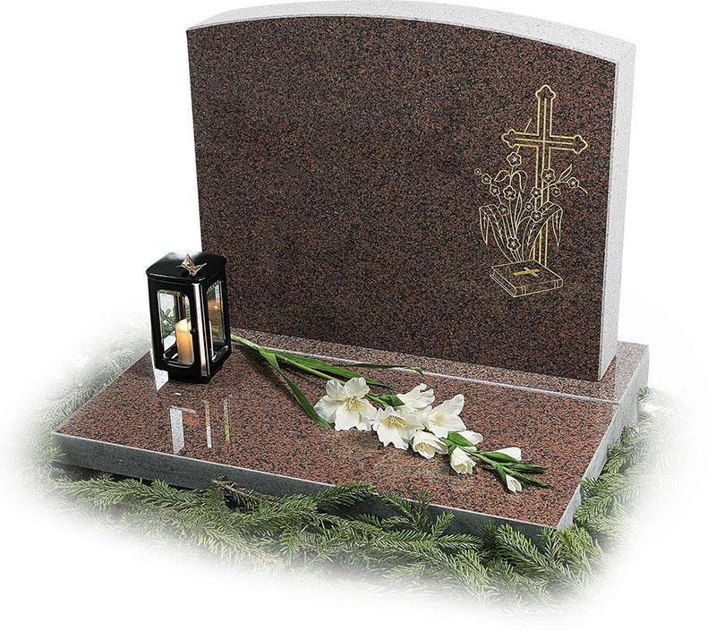 Надгробні пам'ятники у вигляді хреста - особливості модельного ряду. Гранітні пам'ятники з хрестом фото