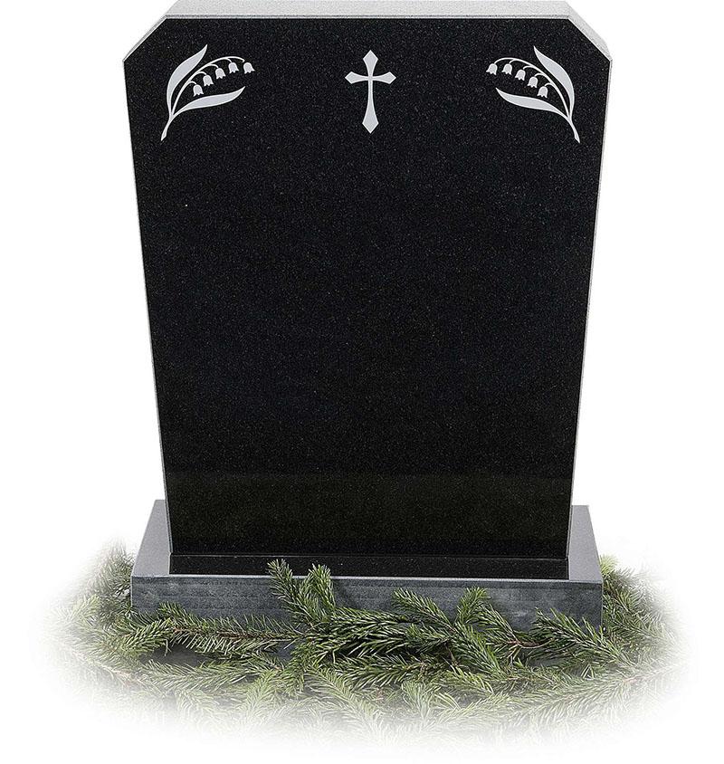 Пам'ятники з хрестом на могилу з інших матеріалів
