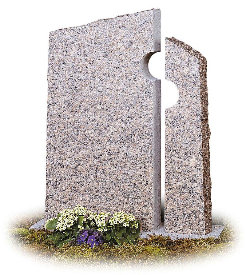 Современные памятники из серого гранита